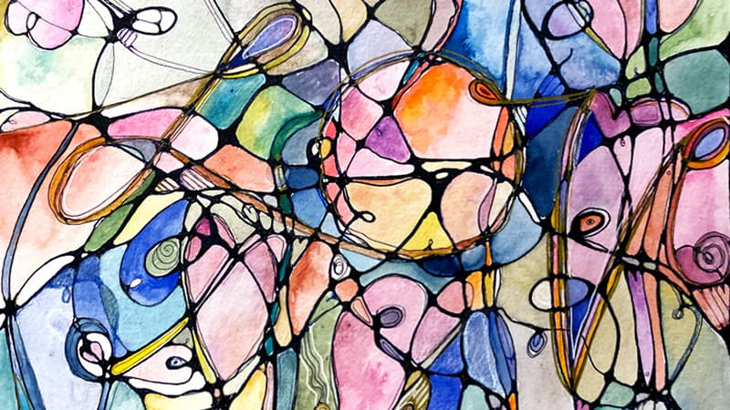 Mindful Art: Pulse and Precision Watercolor Workshop