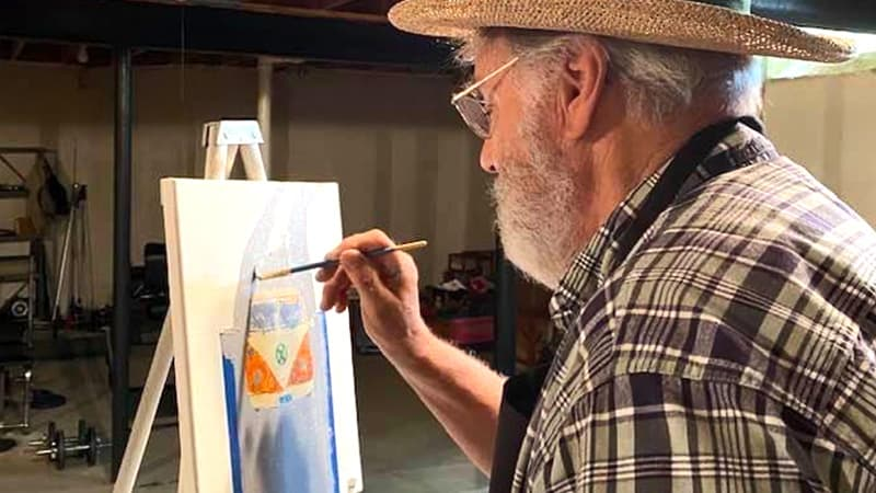 Painting with Parkinsons