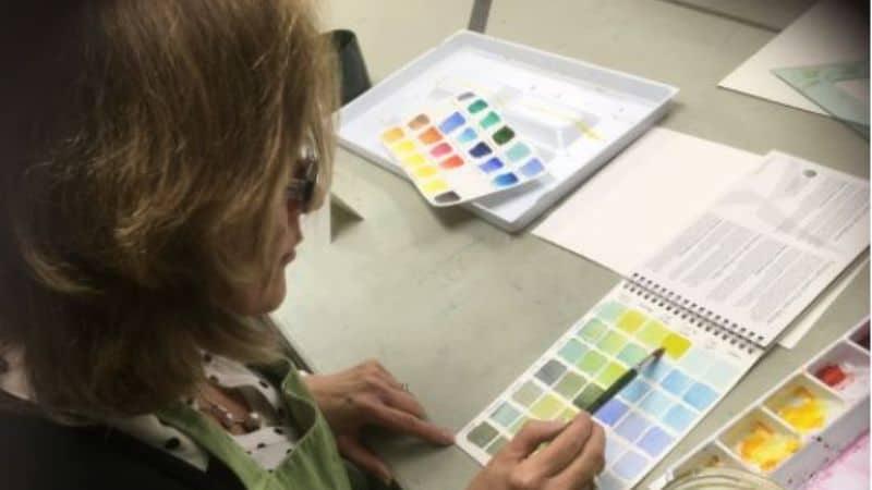 Mindful Art: Watercolor Harmony